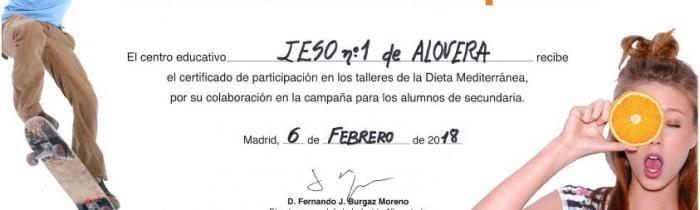 Participación en el programa del Ministerio Mediterraneamos, 6/2/18