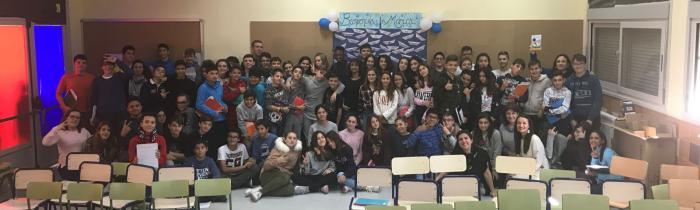 """""""Alma y la Isla"""". Encuentro con su autora Mónica Rodríguez y con Ibrahim 13-11-2017"""