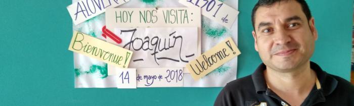Bienvenido, Joaquín, nuestro Administrativo