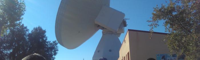 Visita al Observatorio Astronómico de Yebes 10/10/2017