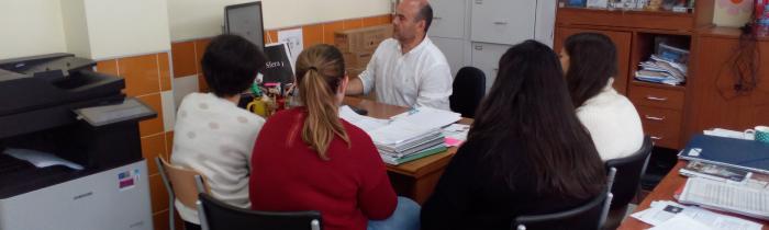 Visita al IESO de profesorado en prácticas