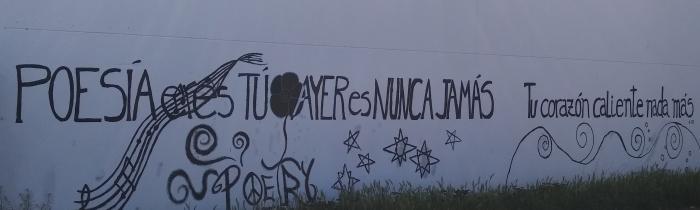 Poema pintado I Maratón de Poesía de Alovera